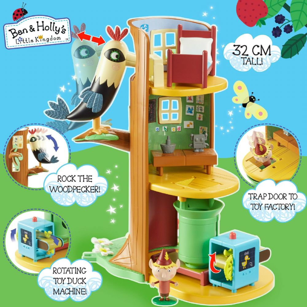 Ben Amp Holly S Little Kingdom Elf Tree Playset